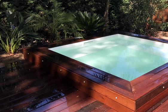 INÉA créateur de piscines st Tropez