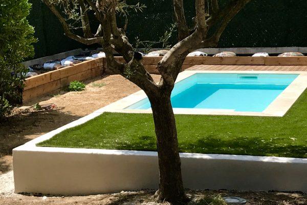 Mini Piscine 4,75 x 2,1 x 1,4 m inea piscines