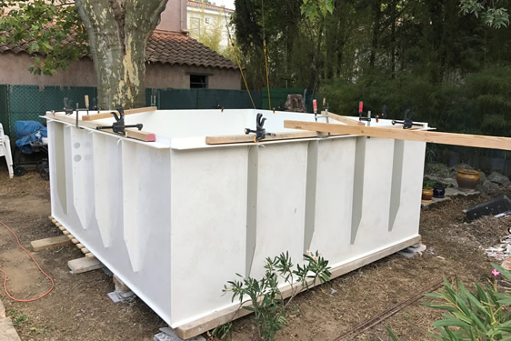 mini-piscine PLAN DE CUQUES (MARSEILLE)