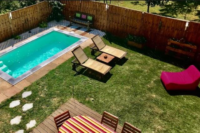 Installation de piscine et spa en polypropylène à Cassis